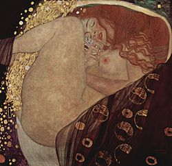 il vero danae-Gustav_Klimt_010