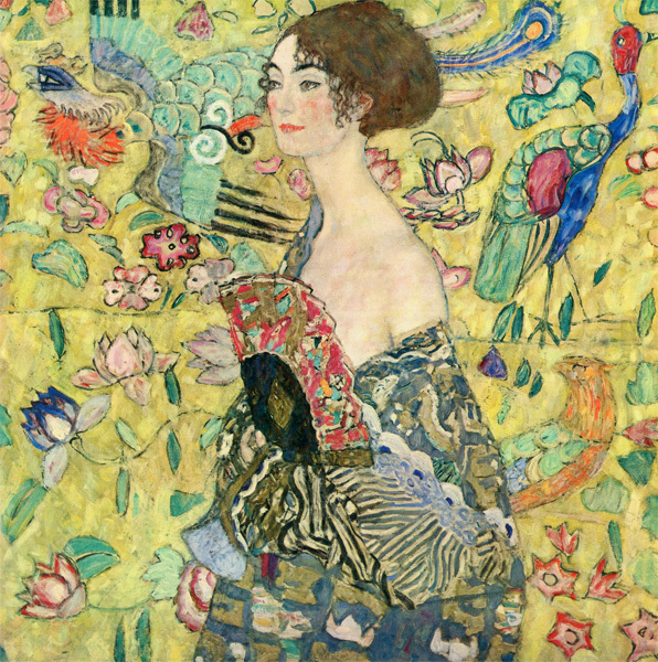 gustav-klimt-lady-with-fan-1917