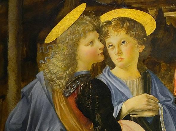 Andrea del verrocchio Angeli ( particolare)